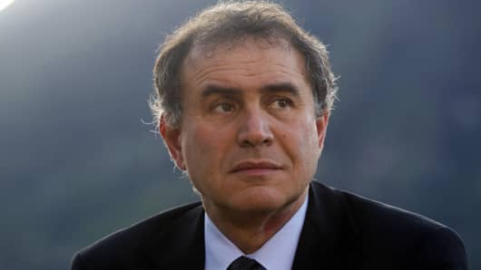 Nouriel Roubini, co-founder and chairman of Roubini Global Economics