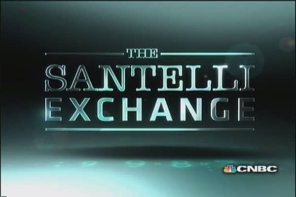 Santelli eyes trade deficit