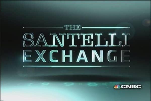 Santelli eyes trade deficit