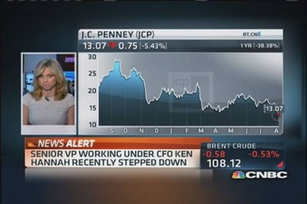 JC Penney to CNBC: Hannah not stepping down