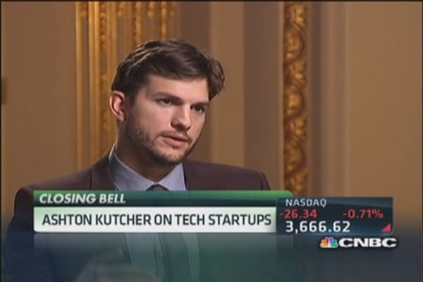 Ashton Kutcher: Investing vs. Acting