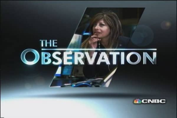 Maria's Observation: The news on newspapers