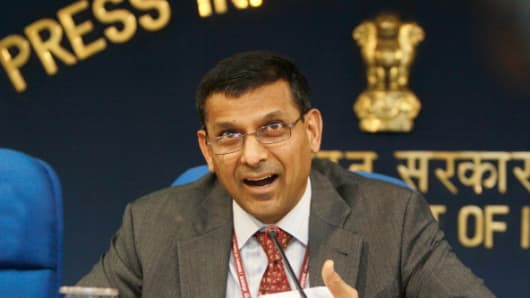Raghuram Rajan, Reserve Bank of India Governor