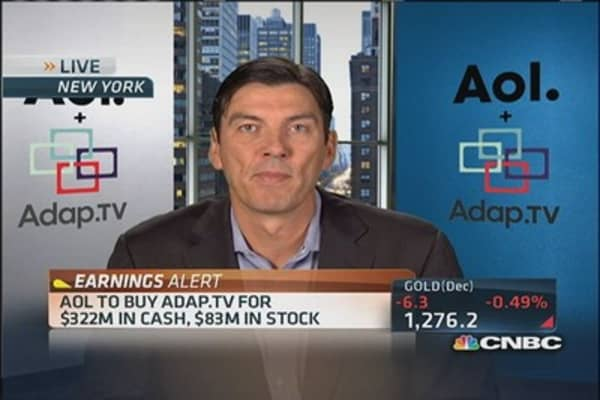 AOL to Buy Adap.tv for $322M in cash, $83M in stock