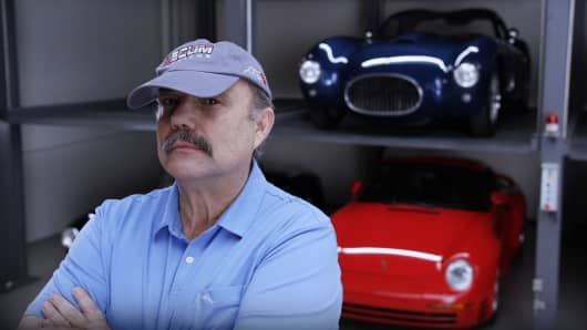 Dana Mecum, classic car auctioneer of Mecum Auctions and star on Velocity TV