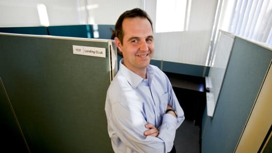 Renaud Laplanche, co-founder of Lending Club.