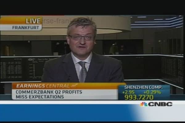 Weakness in Commerzbank is 'really worrying'