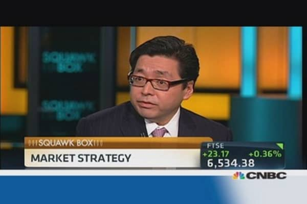 JPMorgan's Lee says S&P could rise 12% in 12 months