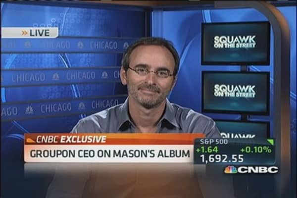 Groupon's best day since IPO