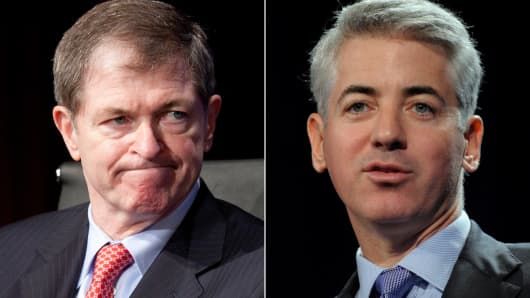 Mike Ullman and Bill Ackman