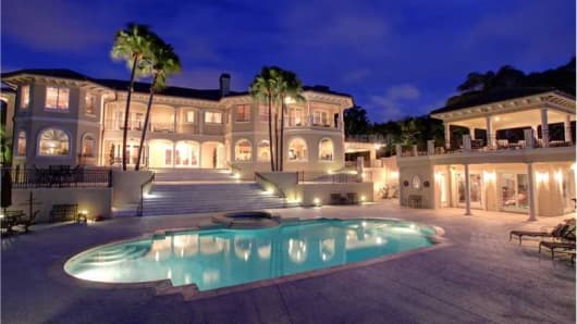 A turnkey mansion for sale in Tampa, Fla.