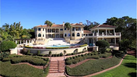 Turnkey mansion for sale in Tampa, Fla.