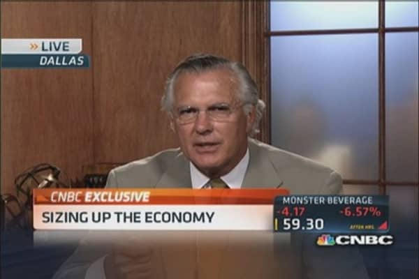 Fed's Fisher: 'There is no improvement in the economy'