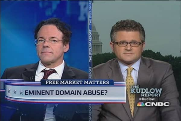Banks fight eminent domain