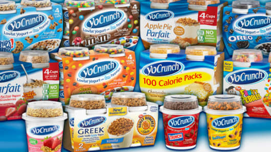 Danone buys YoCrunch.