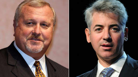 Thomas Engibous and Bill Ackman