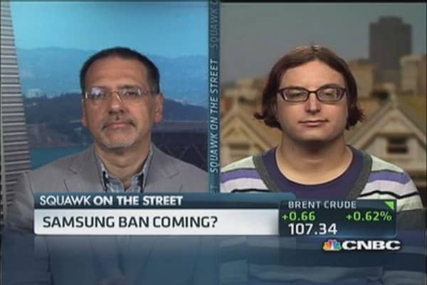 Samsung devices banned in the US?