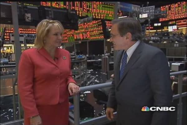 Santelli Exchange Extra: Interview with Gov. Mary Fallin