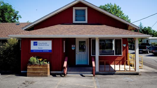 Mary Fey has cared for patients from this small clinic in Dexter, Ore., for nearly 30 years.