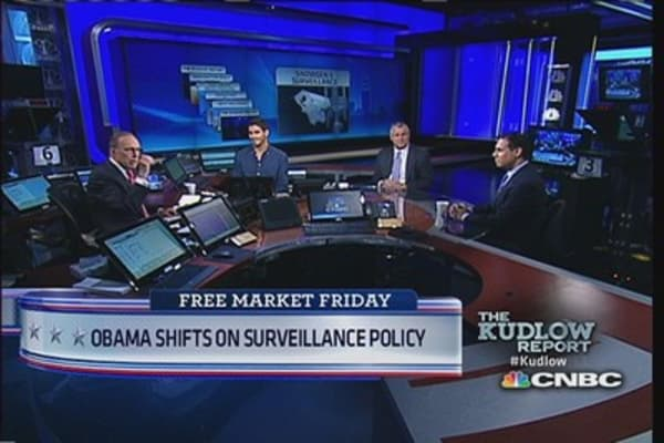 Obama shifts on surveillance policy
