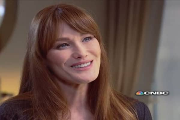 Carla Bruni-Sarkozy on the Royal Family