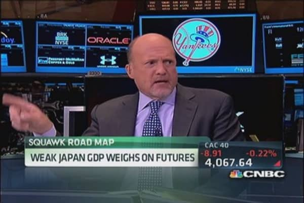 Cramer: Trading on Japan is 'mistaken'