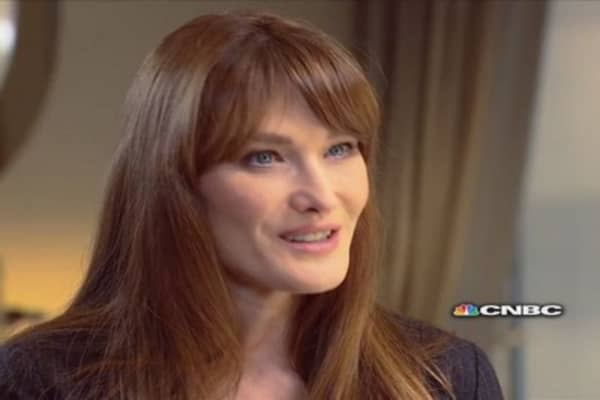 Carla Bruni-Sarkozy: I don't miss the Élysée