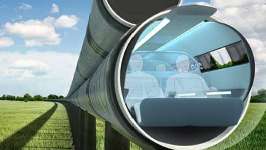 ET3 Hyperloop concept