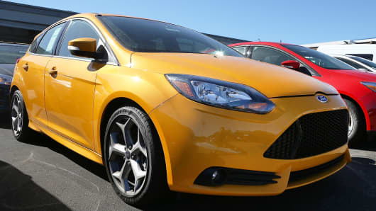 A 2013 Ford Focus