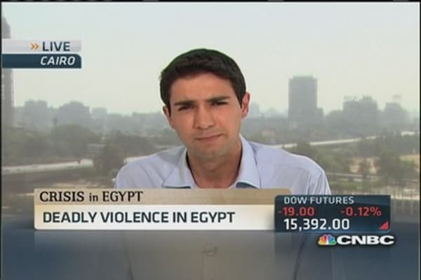 Deadly Cairo clashes continue