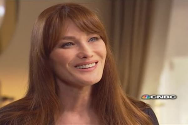 CNBC Meets: Carla Bruni-Sarkozy, part one