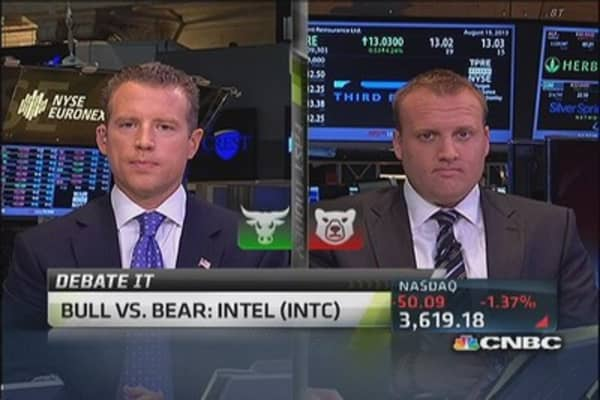 Bull vs. bear: Intel