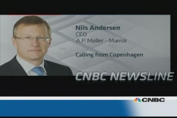 Moller-Maersk CEO: We've become much more competitive