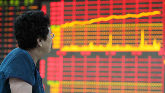 The arbitrage system of Everbright Securities Company Limited encountered problems this morning, resulting in the benchmark Shanghai Composite Index climbing 3.19 percent to end the morning trade at 2,148.39 points, a two-month high.