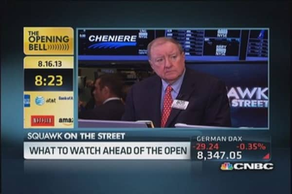 Here's what Cashin's watching ahead of the open