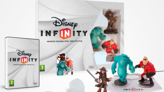 Disney Infinity game characters.