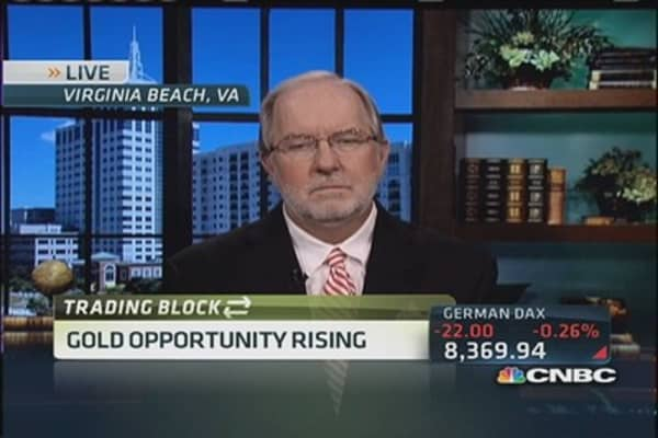 Gartman still bullish on gold, bored with stocks