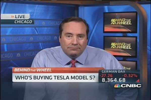 Who's buying Teslas Model S?