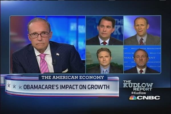 Obamacare's impact on growth