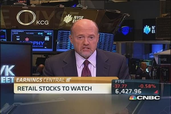 Cramer's stocks to watch: JCP's 'amazing' quarter