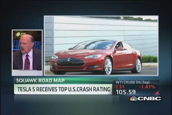 Tesla scores highest safety test every by US govt.