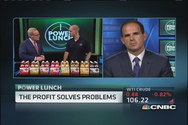 'The Profit' solves problems