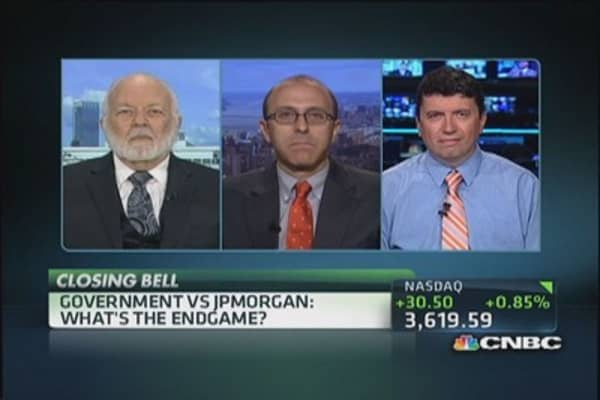 Government vs. JPMorgan
