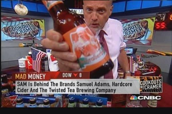 Tremendous bull market in beer: Cramer