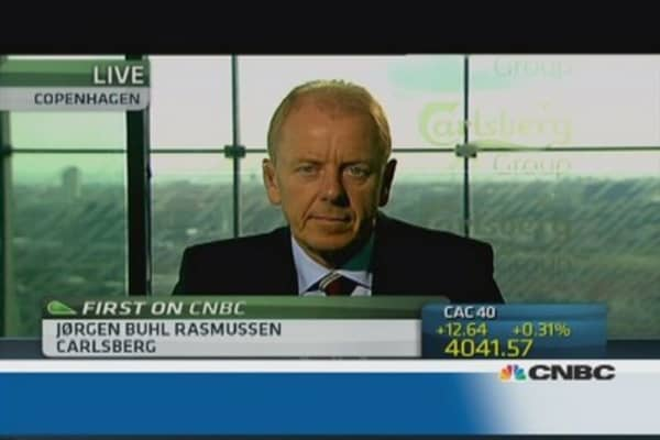 Carlsberg will increase focus on cost: CEO