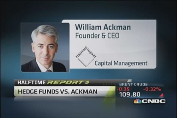 Hedge fund wars heat up