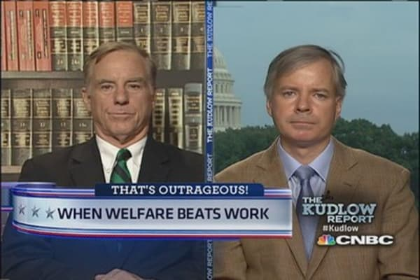 Does welfare discourage work?