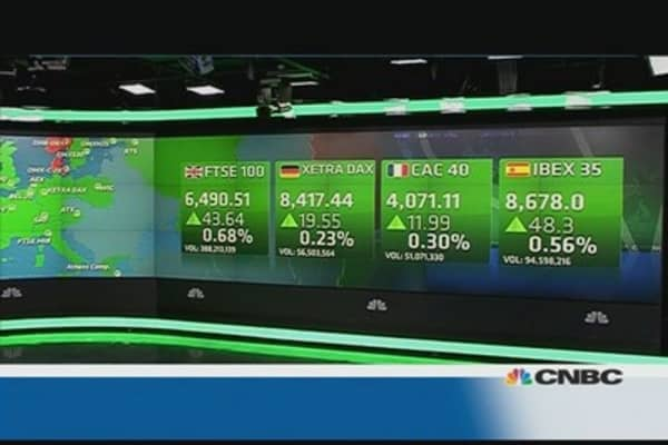 European market closes higher