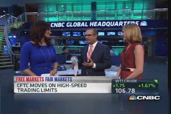 CFTC considering HFT controls
