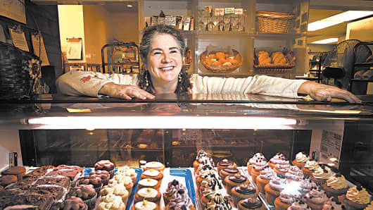 Rose O'Carroll, owner of Rose's Wheat-Free Bakery and Café